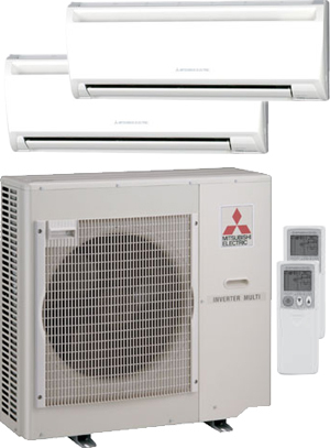 ... Provider Of All Mitsubishi Air Conditioning, Heating, Ductless, Mr.  Slim Multi Zone, Mini Splits, U0026 Heat Pump Equipment. We Perform Emergency  Service, ...