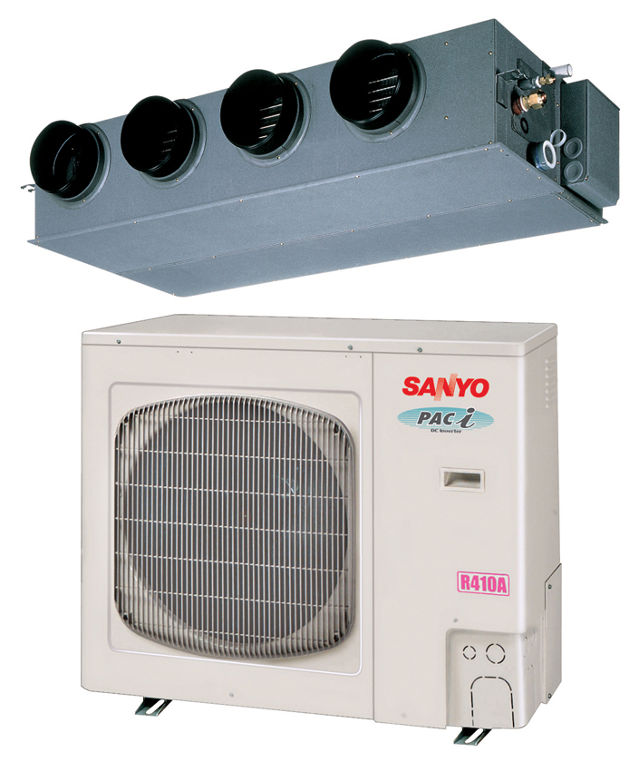 New York Sanyo Concealed Ducted Air Conditioning Amp Heating