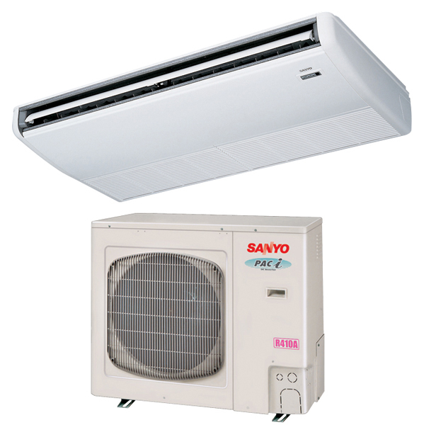 New York Sanyo Ceiling Mounted Ductless Air Conditioning & Heating